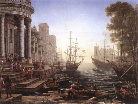 File:Lorrain, Claude - Port Scene with the Embarkation of