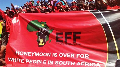 Economic Freedom Fighters (EFF) - Elections 2019