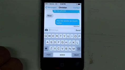 iPhone 4 iOS7 upgrade - Fix for texting, and keyboard lag
