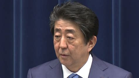 Japan's PM Shinzo Abe says he's resigning for health reasons