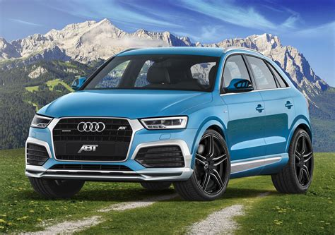 2015 Audi Q3 Gets ABT Cosmetic Tuning, 210 HP Upgrade for