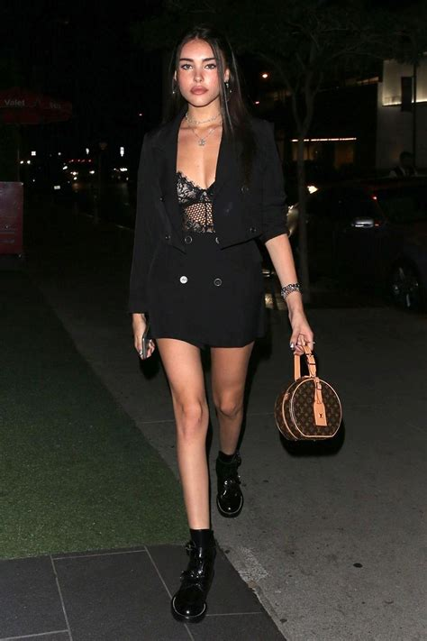 Madison Beer See Through - This Sheer Top Fits Her