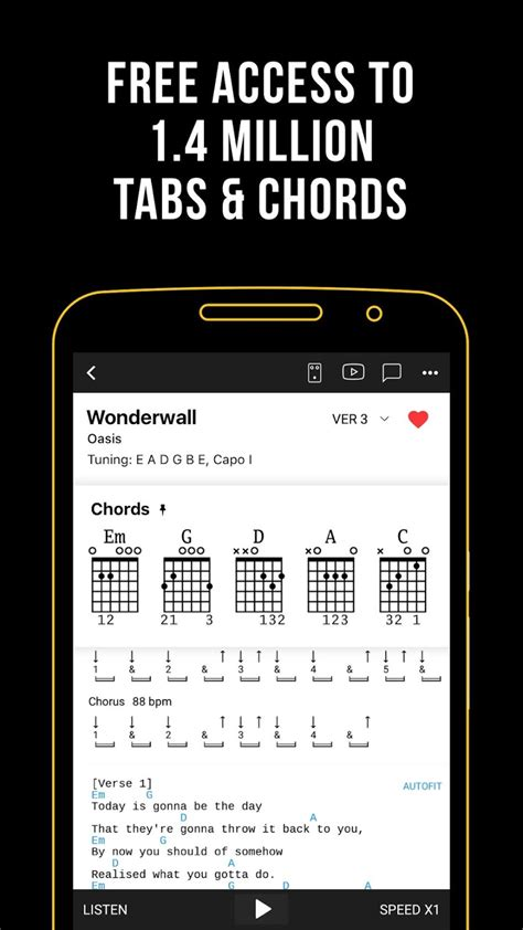 Ultimate Guitar: Chords & Tabs Unlocked | Android Apk Mods