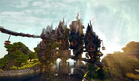 Steamshire Island - A steampunk utopia in the middle of