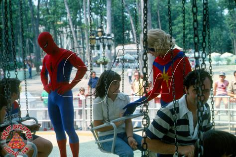 Marvel Characters At Six Flags Great Adventure