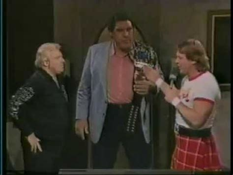 Piper's Pit with Andre the Giant and Bobby Heenan (03-21