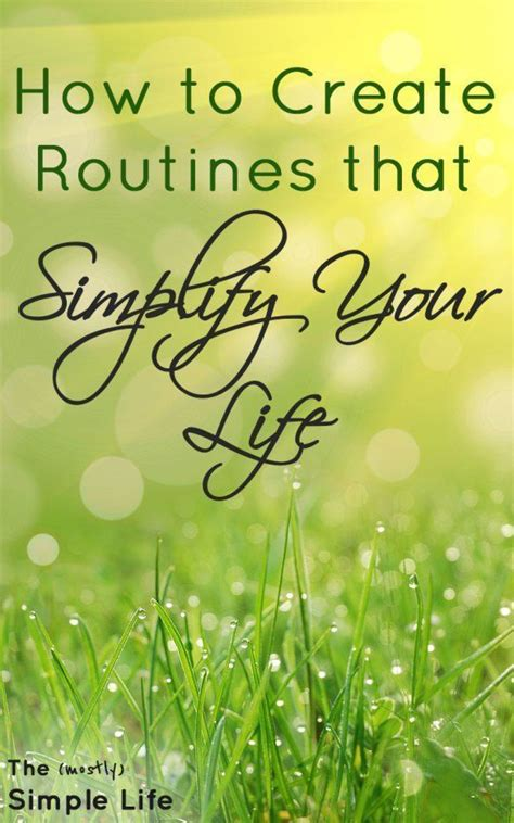 5 routines you need in your life | How t