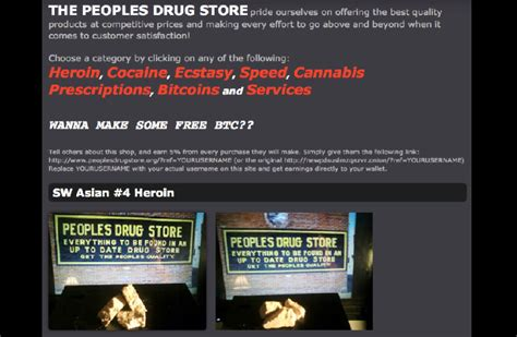 A peek into the Dark Web: Home to drug dealers