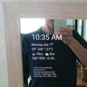 DIY Smart Mirrors   2019 Tutorials and Projects Overview