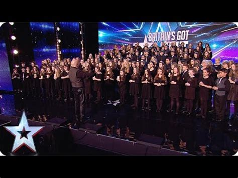 This Welsh 160-piece choir hits all the right notes