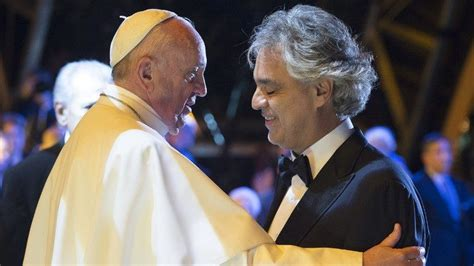 Andrea Bocelli to sing at World meeting fo Families in