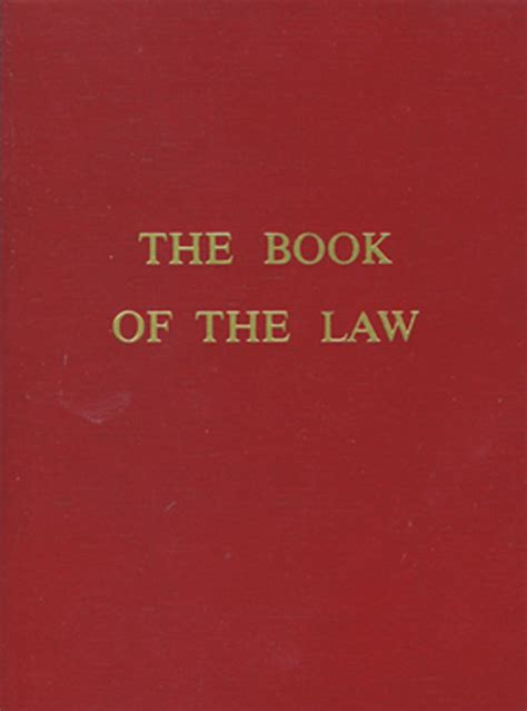 Red Wheel ∕ Weiser Online Bookstore   The Book of the Law