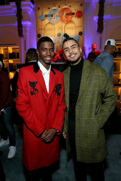 Christian Combs, Quincy Brown - Christian Combs and Quincy