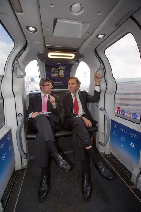 UK Minister Lord Green Visits the Heathrow pod   Ultra