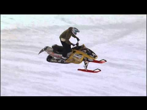 Snowmobile Rider Jumping and Mountains-DXF files Cut Ready