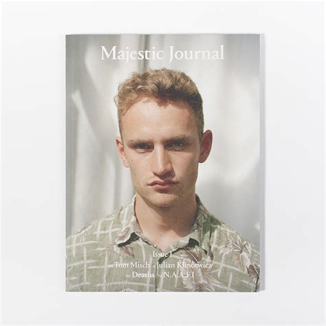 Majestic Journal - Issue 1   Tom misch, New age, Majestic