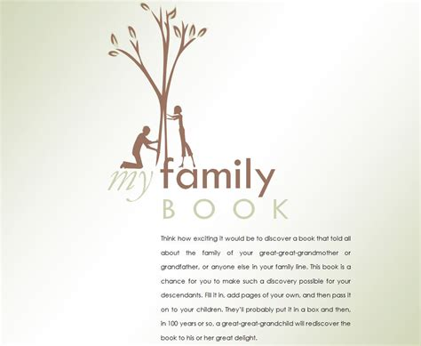 Family History Book   Family History Book Template