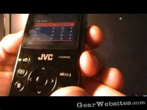 JVC GC-FM1 Pocket HD Video Recorder - First Look - YouTube
