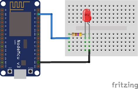Blink an LED with NodeMCU - esp8266 learning