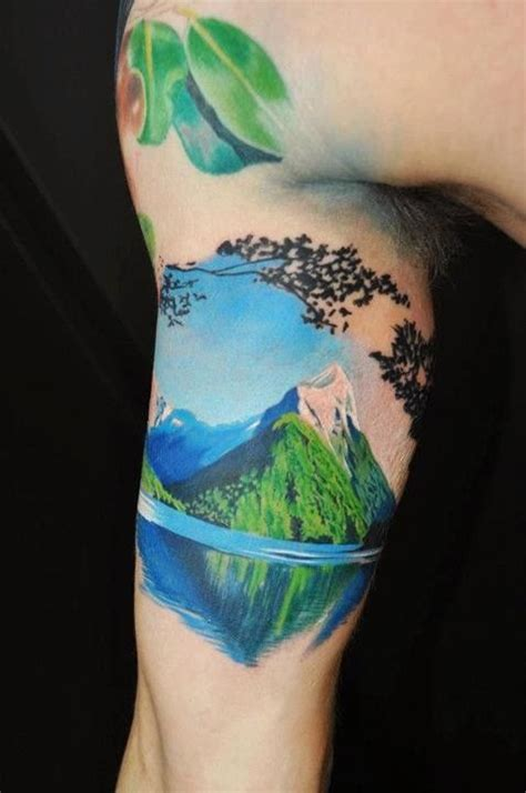 42 Simple yet Stylish Nature Tattoos for the Free Spirited