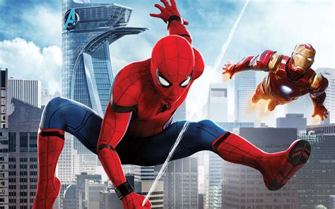 Spider Man Homecoming Iron Man Wallpapers   HD Wallpapers