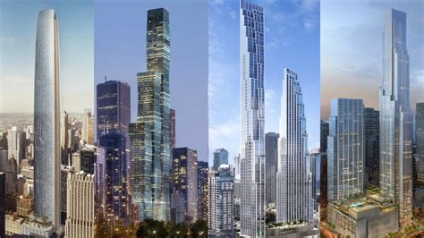 Future Chicago 2030: Tallest Under Construction and