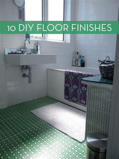 10 Easy and Inexpensive DIY Floor Finishes | Curbly