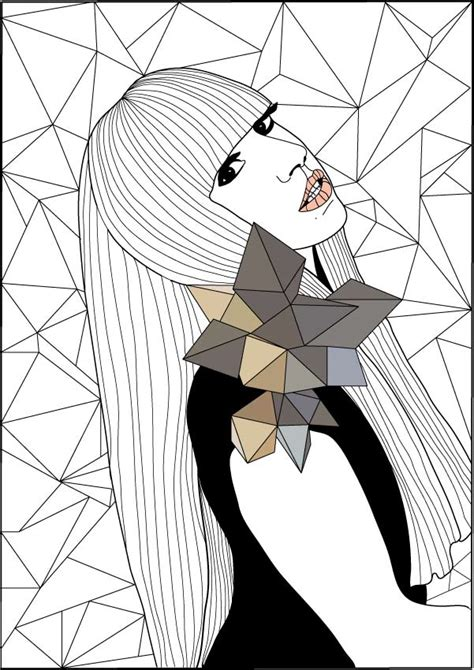 Lady Gaga Coloring Pages - Coloring Home